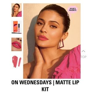 On Wednesdays Matte lip kit Kylie Cosmetics